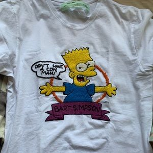 Off-White Bart Simpson